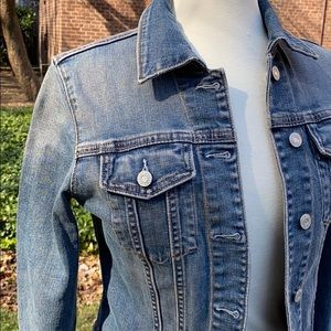 GAP Jackets & Coats - GAP Blue Faded Denim Jacket